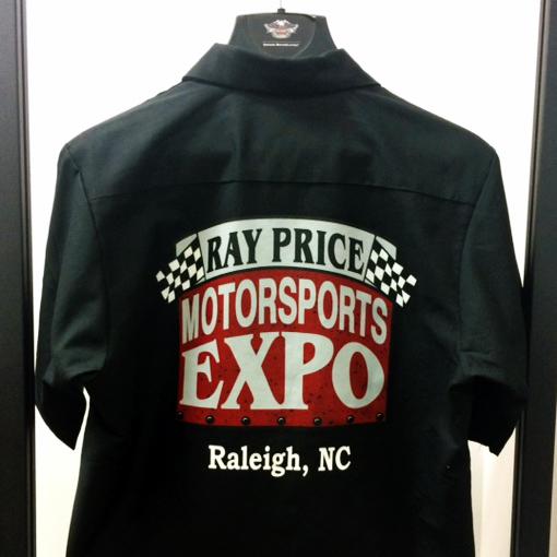 Motorsports Expo Garage Shirt